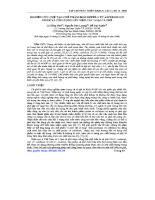 Báo cáo khoa học Nghiên cứu chế tạo chế phẩm biocoffee 1 từ aspergillus