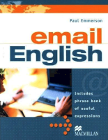 Mcmillan Publishing Email English by Paul Emmerson