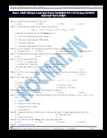 Danh pháp hóa chất hữu cơ - P6