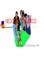 kỹ năng đàm phán trong bán hàng