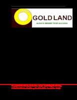 Báo cáo thực tập chuyên đề kinh doanh bất động sản