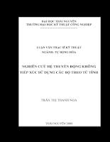 Nghiên cứu hệ truyền động không tiếp xúc sử dụng các bộ treo từ tính.pdf