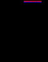 Khảo sát các yếu tố thủy lý hóa trong ao nuôi tôm và các nguồn nước cấp tại Bạc Liêu vào cuối mùa khô đầu mùa mưa 2005