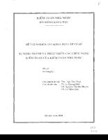 Sự hình thành và phát triển các chức năng kiểm toán của kiểm toán nhà nước II.pdf