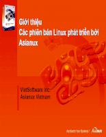 01.Giới thiệu các phiên bản Linux phát triển bởi Asianux