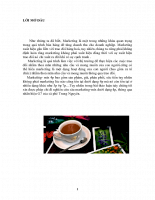 Chiến lược marketing-mix dưới dạng 4p nhãn hiệu G7 của cà phê Trung Nguyên