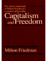 Capitalism and Freedom - Milton Friedman - Alongside Schumpetẻ