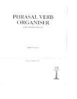 Phrasal  Verb Organise