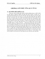 Đồ án Khảo sát PLC của hãng Omron và ứng dụng phần 1