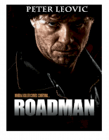 Roadman, The Movie Screenplay