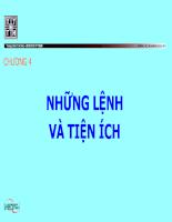 Giáo trình Hệ điều hành Linux cơ bản Chương 04