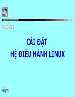 Giáo trình Hệ điều hành Linux cơ bản Chương 02