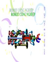 Giáo trình Robot công nghiệp.