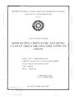 Định hướng chiến lược xây dựng và phát triển thương hiệu công ty ORION.pdf