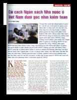 Cải cách Ngân sách Nhà nước ở Việt Nam dưới góc nhìn kiểm toán .pdf