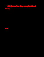 Các lệnh cơ bản dùng trong BackTrack