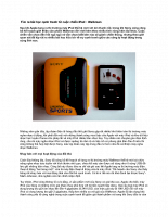 Tìm ra bài học cạnh tranh từ cuộc chiến iPod - Walkman