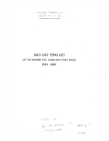 Nghiên cứu thu phát thanh kỹ thuật số stereo & thu phát hình kỹ thuật số độ phân giải