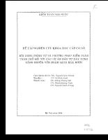 Nội dung, trình tự và phương pháp kiểm toán tuân thủ đối với các dự án ĐTXD .pdf