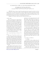 Xác định bể đáy phôi vật liệu bằng hệ phoke alpha