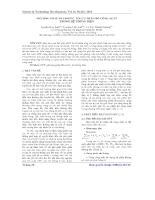 Phương pháp Heuristic tối ưu phân bố công suất trong hệ thống điện