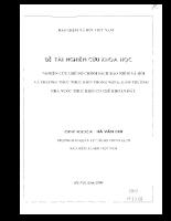 Nghiên cứu chế độ chính sách bảo hiểm xã hội và phương thức thực hiện .pdf