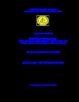 Phân tích mối quan hệ giữa chi phí - khối lượng - lợi nhuận tại công ty cổ phần dược phẩm an giang