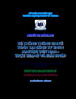 Hệ thống thông tin kế toán tại công ty TNHH Maersk Việt Nam - Thực trạng và giải pháp