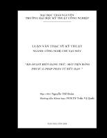 Khảo sát biến dạng thân máy tiện bằng phương pháp phần tử hữu hạn.pdf
