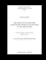 đặc điểm của các địa danh thuộc huyện võ nhai (thái nguyên) từ góc độ văn hoá.pdf
