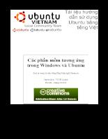 Tài liệu sử dụng Ubuntu bằng tiếng việt