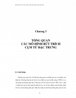 Mô hình rút trích cụm từ đặc trưng ngữ nghĩa trong tiếng việt 04
