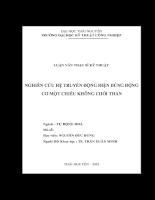 Nghiên cứu hệ truyền động điện dùng động cơ một chiều không chổi than.pdf