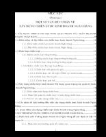 Giải pháp hoàn hiện hoạt động xây dựng chiến lược tại Ngân hàng Công thương Việt Nam