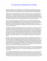 Kỹ nǎng chǎm sóc khách hàng trước bán hàng