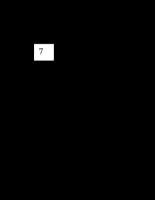 Giáo trình Xử lý ảnh -P7