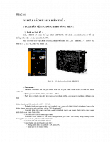 Khảo sát hệ thống rơle bảo vệ trạm biến áp 110,15KV Thủ Đức Bắc phần 2.1