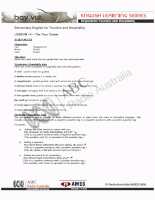 English for Tourism and Hospitality 14