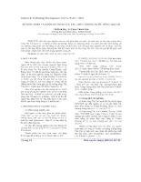 Ăn mòn thép và anot hy sinh của tàu thủy trong nước sông Thị Vải