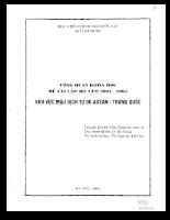 Lợi thế, hạn chế, cơ hội và thách thức của Việt Nam trong quan hệ thương mại.pdf