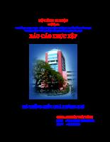 Báo cáo thực tập Hệ thống điều hòa không khí
