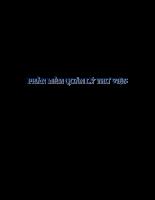 Báo cáo đồ án phần mềm quản lý thư viện