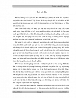 Ứng dụng máy vi tính trong công tác kế toán nguyên vật liệu tại công ty khoá Minh Khai