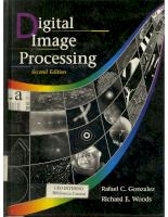 Digital Image Processing [GONZALEZ R C WOOD] COVERS