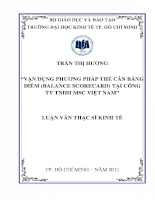 Vận dụng phương pháp thẻ cân bằng điểm (Balance Scorecard) tại công ty TNHH MSC VN.pdf
