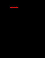 """đề cương chi tiết """"Chiến lược Marketing – mix nhằm mở rộng thị trường cho công ty TNHH Dược phẩm Ích Nhân """" 2011"""