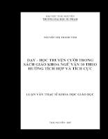 Dạy - học truyện cười trong sách giáo khoa ngữ văn 10 theo hướng tích hợp và tích cực.pdf