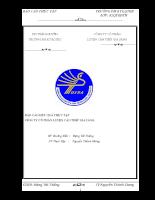Báo cáo thực tập công ty cổ phần luyện cán thép gia sàng