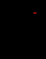 Phân bố liều hấp thụ trong Phantom theo bề dày và khoảng cách đến trục của chùm photon năng lượng 6 MV và 15 MV dùng trong xạ trị - Chương 2