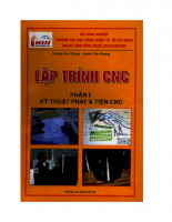 Lập trình CNC  Phần 1 Kỹ thuật phay & tiện CNC (Tài liệu lưu hành nội bộ)